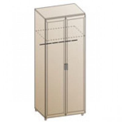 Шкаф ШК-802 для спальни Лером «Мелисса»