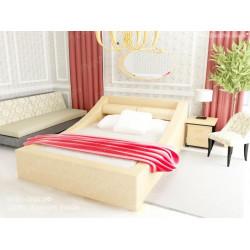 Мягкая кровать ВМК-Шале «Таисия» 160 см