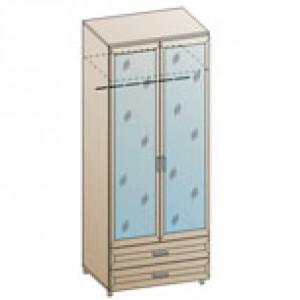 Шкаф ШК-846 для детской Лером «Ксюша»