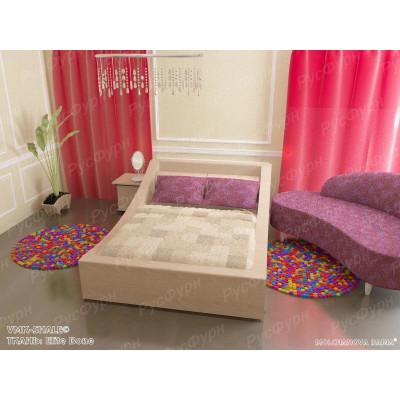 Мягкая кровать ВМК-Шале «Таисия» 120 см