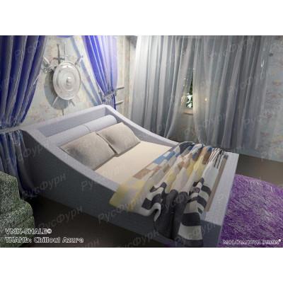 Мягкая кровать ВМК-Шале «Таисия» 90 см