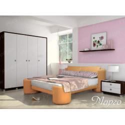 Мягкая кровать ВМК-Шале «Марго» 140 см