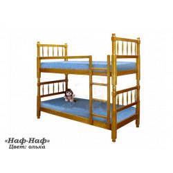 Двухъярусная кровать ВМК-Шале «Наф-Наф» 90 см