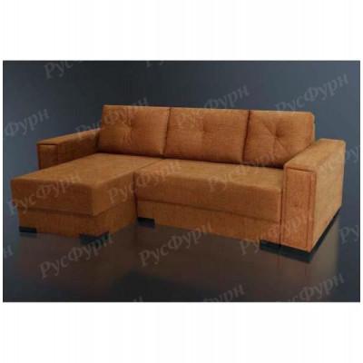 Угловой диван Благо-11 Malina Brown