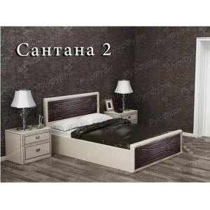 Мягкая кровать ВМК-Шале «Сантана 2» 140 см