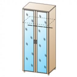 Шкаф ШК-1703 для спальни Лером «Камелия»