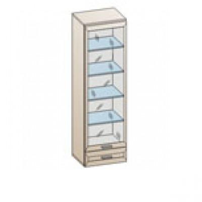 Шкаф ШК-830 (верх.) для гостиной Лером «Мелисса»
