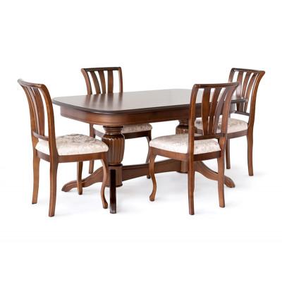 Обеденный стол Лира-14 155 х 90 см