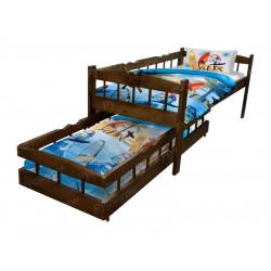 Детская кровать ВМК-Шале «Крузенштерн» 90 см