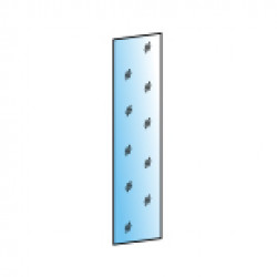 Зеркало ЗР-1016 (для ШК-1072) для гостиной Лером «Карина»