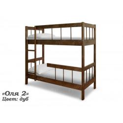 Двухъярусная кровать ВМК-Шале «Оля 2» 90 см