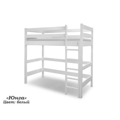 Кровать-чердак ВМК-Шале «Юнга» 90 см