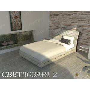 Мягкая кровать ВМК-Шале «Светлозара-2» 120 см