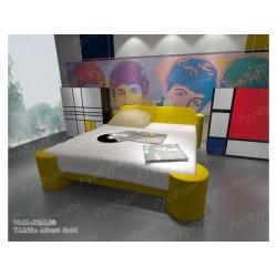 Мягкая кровать ВМК-Шале «Марго» 160 см