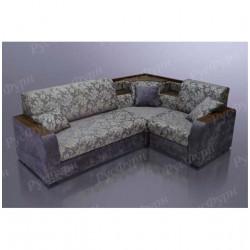 Угловой диван Благо-15 Chloe plum