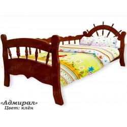 Детская кровать ВМК-Шале «Адмирал» 80 см