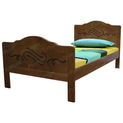 Детская кровать ВМК-Шале «Альфа» 90 см