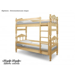 Двухъярусная кровать ВМК-Шале «Нуф-Нуф» 90 см