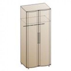 Шкаф ШК-108 для спальни Лером «Дольче Нотте»