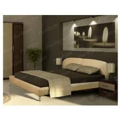 Мягкая кровать ВМК-Шале «Беатриса» 120 см