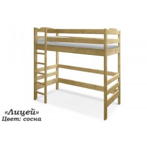 Кровать-чердак ВМК-Шале «Лицей» 80 см