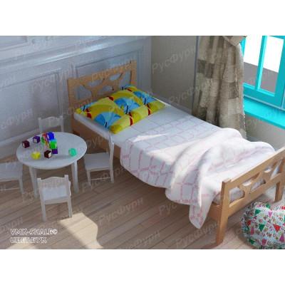 Детская кровать ВМК-Шале «Поло» 90 см