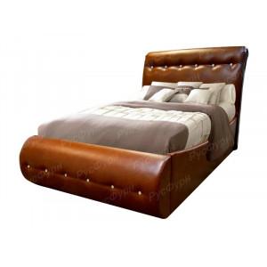 Мягкая кровать ВМК-Шале «Гретта» 140 см
