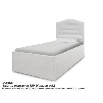 Мягкая кровать ВМК-Шале «Лора» 90 см