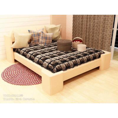 Мягкая кровать ВМК-Шале «Марго-2» 140 см