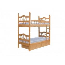 Двухъярусная кровать ВМК-Шале «Луч 2» 90 см