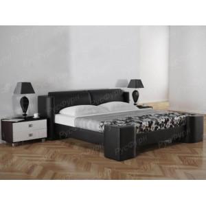 Мягкая кровать ВМК-Шале «Марго-2» 90 см