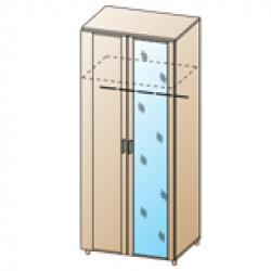 Шкаф ШК-1710 для спальни Лером «Камелия»