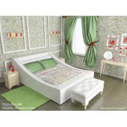 Мягкая кровать ВМК-Шале «Таисия» 140 см