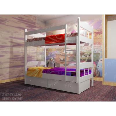 Двухъярусная кровать ВМК-Шале «Скаут 1» 80 см