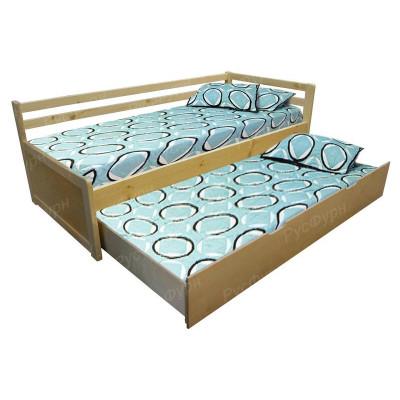 Детская кровать ВМК-Шале «Дуэт 1» 80 см