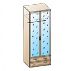 Шкаф ШК-1007 для детской Лером «Карина»