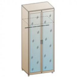 Шкаф ШК-824 для спальни Лером «Мелисса»