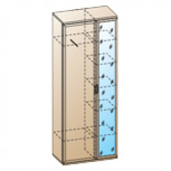 Шкаф ШК-1032 для детской Лером «Карина»