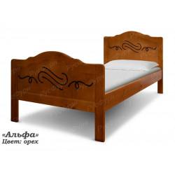 Детская кровать ВМК-Шале «Альфа» 80 см