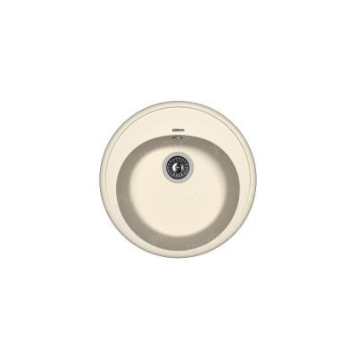 Круглая мойка для кухни из искусственного камня Флорентина Лотос 510 45см