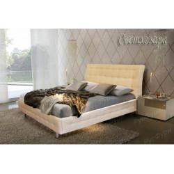 Мягкая кровать ВМК-Шале «Светлозара» 140 см