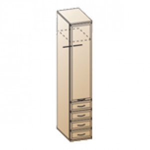 Шкаф ШК-1024 для детской Лером «Карина»