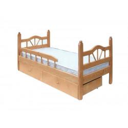 Детская кровать ВМК-Шале «Луч 1» 80 см