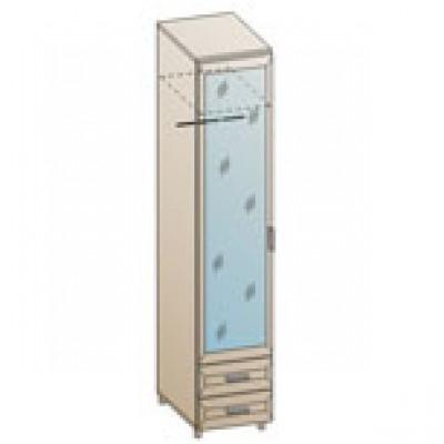 Шкаф ШК-848 для детской Лером «Ксюша»
