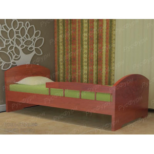 Детская кровать ВМК-Шале «Жанна» с бортиком 90 см