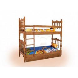 Двухъярусная кровать ВМК-Шале «Шрек 2» 80 см