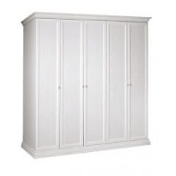 Шкаф 5-и дв. для платья и белья (без зеркала)
