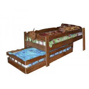 Детская кровать ВМК-Шале «Крузенштерн» 80 см
