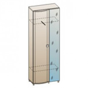 Шкаф ШК-227 для гостиной Лером «Роберта»
