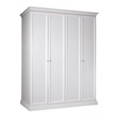 Шкаф 4-х дв. для платья и белья (без зеркал)